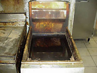 Fryer Before Airways Cleaning